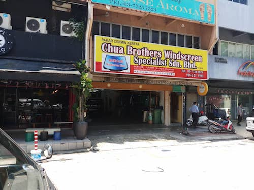 Kedai Cermin Kereta Kuala Lumpur